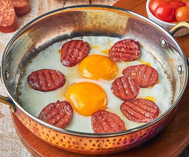 Menu: Eggs Pan