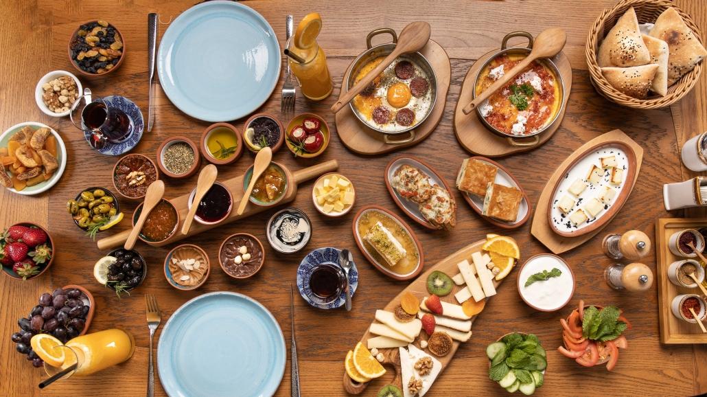 The Royal Breakfast - A Decadent Spread